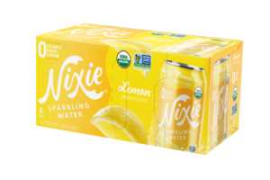 LEMON ORGANICALLY FLAVORED SPARKLING WATER