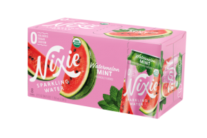 WATERMELON MINT ORGANICALLY FLAVORED SPARKLING WATER