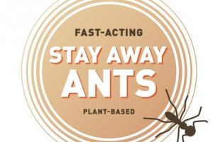 PLANT-BASED FAST-ACTING STAY AWAY ANTS AROMATIC SCENT