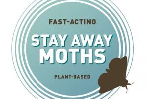 PLANT-BASED FAST-ACTING STAY AWAY MOTHS AROMATIC