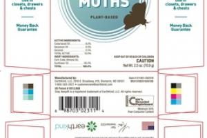 FAST-ACTING PLANT-BASED STAY AWAY MOTHS