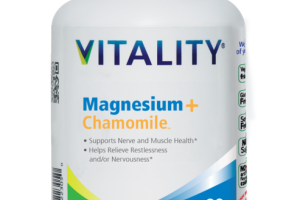 MAGNESIUM + CHAMOMILE DIETARY SUPPLEMENT VEGETABLE CAPSULES