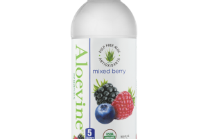 MIXED BERRY PULP FREE ALOE WITH ANTIOXIDANTS