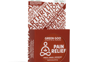 PAIN RELIEF SALVE ARNICA + GINGER + PEPPERMINT