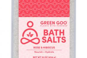 BATH SALTS ROSE & HIBISCUS