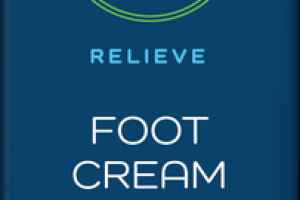 RELIEVE FOOT CREAM WITH CBD PEPPERMINT