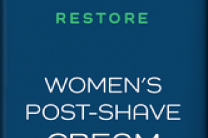 RESTORE WITH 300MG CBD WOMEN'S POST-SHAVE CREAM TEA TREE