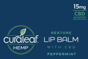 RESTORE WITH CBD 15 MG LIP BALM PEPPERMINT