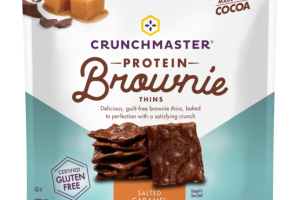 SALTED CARAMEL PROTEIN BROWNIE THINS