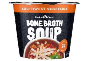 SOUTHWEST VEGETABLE BROTH SOUP