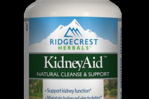 KIDNEYAID NATURAL CLEANSE & SUPPORT HERBAL SUPPLEMENT VEGAN CAPSULES