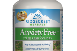 STRESS RELIEF COMPLEX HERBAL & NUTRITION SUPPLEMENT VEGAN CAPSULES