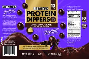 DARK CHOCOLATE PROTEIN DIPPERS