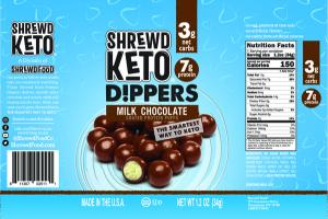 MILK CHOCOLATE COATED PROTEIN PUFFS DIPPERS