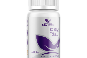 25 MG CBD SUPPLEMENT GEL CAPSULES