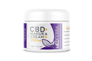 CBD+ MANUKA CREAM 250MG