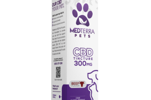 TINCTURE 300MG CBD SUPPLEMENT, BEEF
