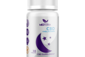 CBD 25 MG + MELATONIN CBD SUPPLEMENT TABLETS