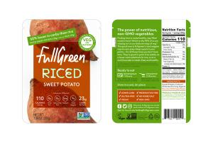 RICED SWEET POTATO