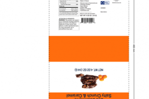 DARK CHOCOLATE SEA BUCKTHORN, SALTY CRUNCH & CARAMEL NORDL SNACKING THINS