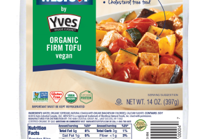 ORGANIC FIRM TOFU VEGAN