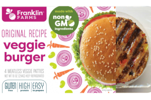 VEGGIE ORIGINAL RECIPE MEATLESS BURGER PATTIES