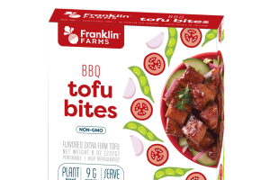 BBQ FLAVORED EXTRA FIRM TOFU BITES