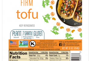 PLANT BASED FIRM TOFU