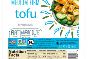 PLANT BASED MEDIUM FIRM TOFU