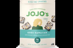 GOES HAWAIIAN DARK CHOCOLATE + COCONUT, SEA SALT, MACADAMIA NUTS