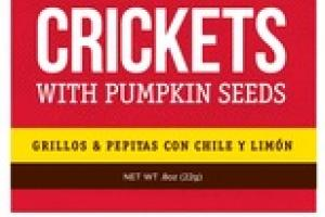 CHILI-LIME CRICKETS WITH PUMPKIN SEEDS