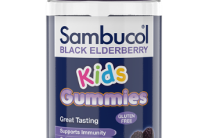 SUPPORT IMMUNITY DIETARY SUPPLEMENT KIDS GUMMIES, BLACK ELDERBERRY