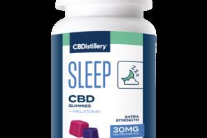 EXTRA STRENGTH SLEEP+ CBD + MELATONIN HEMP SUPPLEMENT GUMMIES