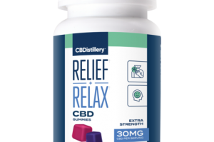 RELIEF + RELAX CBD 30MG HEMP SUPPLEMENT GUMMIES