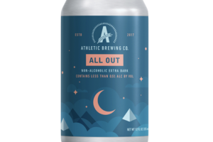 ALL OUT NON-ALCOHOLIC EXTRA DARK BEER