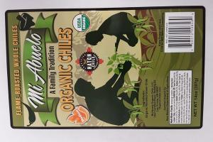 MEDIUM HOT UNPEELED HATCH CHILE ORGANIC FLAME-ROASTED GREEN CHILES
