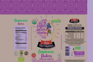 SWEET ORGANIC RICE CAKES WITH STEVIA