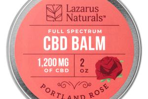 FULL SPECTRUM 1,200 MG OF CBD BALM, PORTLAND ROSE
