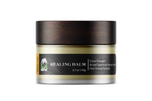 HEMP EXTRACT EXTRA STRENGTH BROAD SPECTRUM FAST ACTING FORMULA HEALING BALM