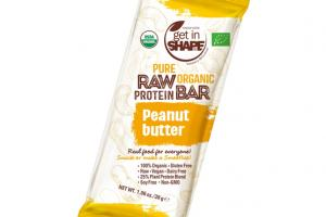 PEANUT BUTTER PURE RAW ORGANIC PROTEIN BAR