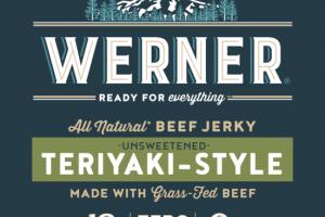 TERIYAKI-STYLE UNSWEETENED BEEF JERKY