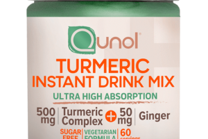 ULTRA HIGH ABSORPTION TURMERIC INSTANT DRINK MIX VEGETARIAN FORMULADIETARY SUPPLEMENT, TROPICAL ORANGE