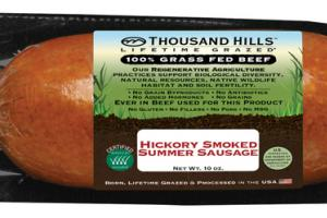 HICKORY SMOKED SUMMER SAUSAGE