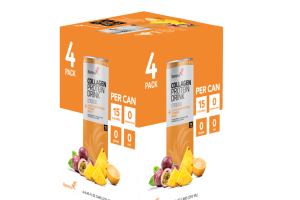 PASSIONFRUIT, ORANGE AND PINEAPPLE FLAVORED COLLAGEN PROTEIN DRINK