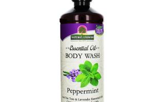 ESSENTIAL OIL BODY WASH PEPPERMINT
