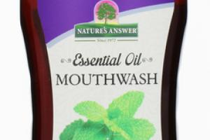 ESSENTIAL OIL MOUTHWASH PEPPERMINT