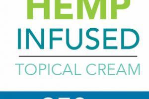 BROAD SPECTRUM ZERO THC 250 MG HEMP INFUSED TOPICAL CREAM