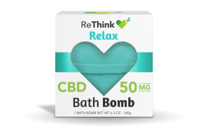 RELAX CBD 50 MG BATH BOMB