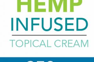 BROAD SPECTRUM ZERO THC 250 MG HEMP INFUSED TOPICAL CREAM