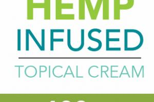 BROAD SPECTRUM ZERO THC 100 MG HEMP INFUSED TOPICAL CREAM